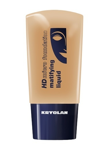 Kryolan Hd Micro Foundation Matifying Liquid Ten